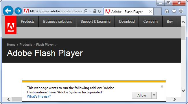 activer Click-to-Play Plugins dans tous les navigateurs Web 8