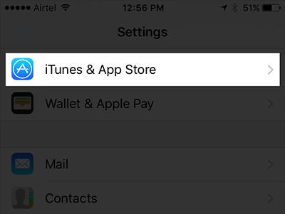 activer automatiques Téléchargements App Sur iPhone 2