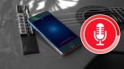 activer l'enregistrement automatique de musique App iPhone