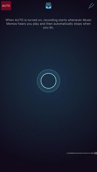 activer l'enregistrement automatique de musique App iPhone 2