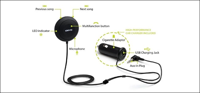 ajouter Bluetooth à votre voiture 1