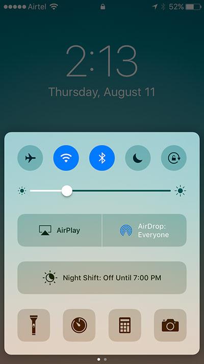améliorer iOS 10 Autonomie de la batterie 13