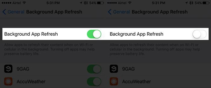 améliorer iOS 10 Autonomie de la batterie 2