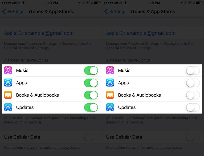 améliorer iOS 10 Autonomie de la batterie 4