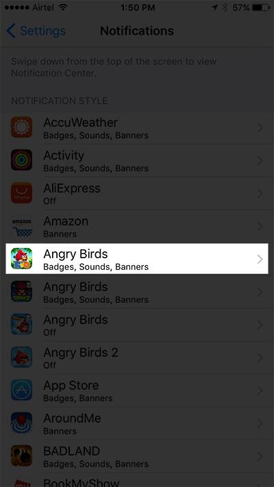 améliorer iOS 10 Autonomie de la batterie 8