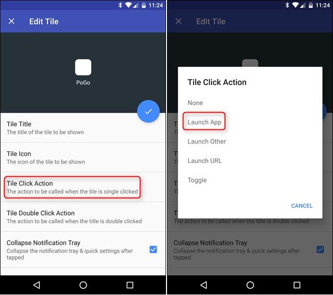 créer sur mesure Tiles pour Quick Settings Menu Android 14