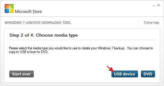 créer une clé USB d'installation pour Windows 10, 8 ou 7 -3