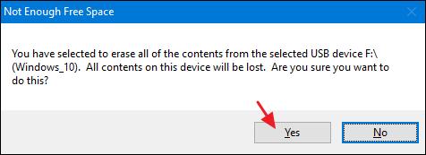 créer une clé USB d'installation pour Windows 10, 8 ou 7 -5