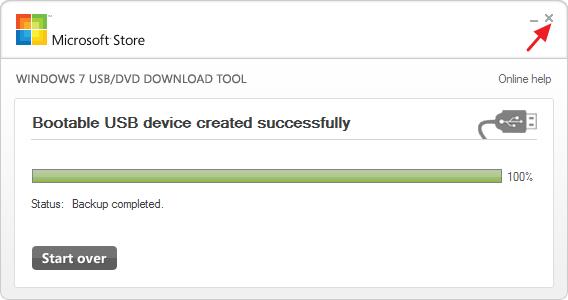 créer une clé USB d'installation pour Windows 10, 8 ou 7 -7