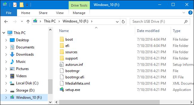 créer une clé USB d'installation pour Windows 10, 8 ou 7 -8
