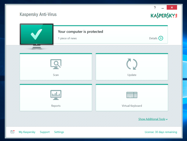 le meilleur antivirus pour Windows 10 2