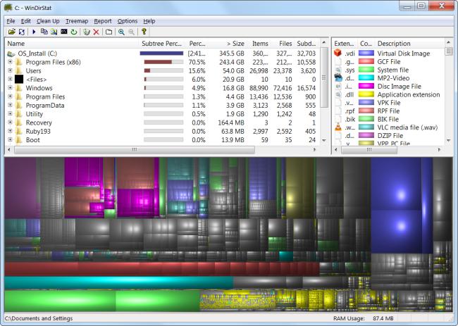libérer l'espace disque dur Sous Windows 7