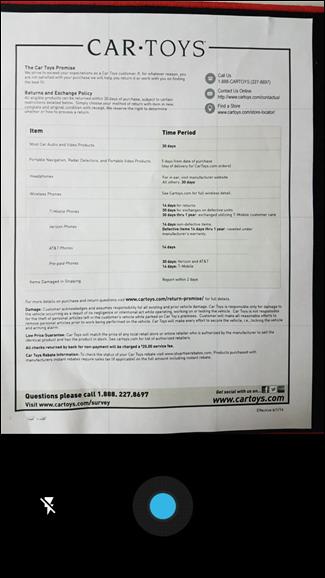 numériser des documents au format PDF avec la caméra de téléphone 3