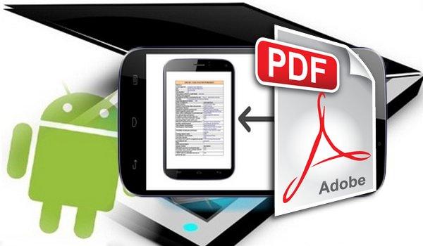 numériser des documents au format PDF avec la caméra de téléphone