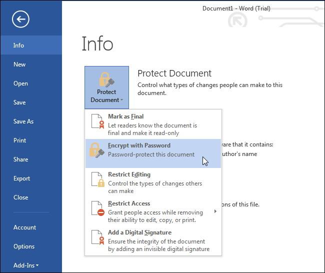 protéger les fichiers et dossiers par Mot de passe 2