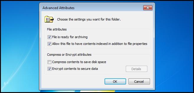 protéger les fichiers et dossiers par Mot de passe 5