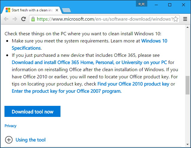 réinstaller facilement de Windows 10 Sans le Bloatware 2