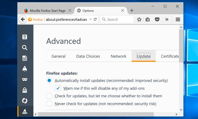 sécuriser votre navigateur Web contre les attaques