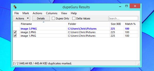 supprimer les fichiers en double sur Windows 1