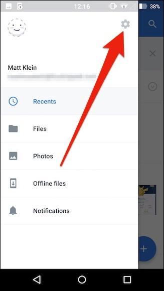 télécharger automatiquement les photos de votre téléphone à Dropbox 2