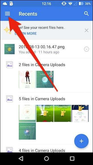 télécharger automatiquement les photos de votre téléphone à Dropbox
