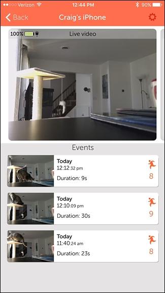 utiliser votre Smartphone comme Home Security Camera 10