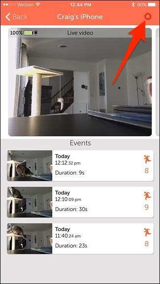 utiliser votre Smartphone comme Home Security Camera 11