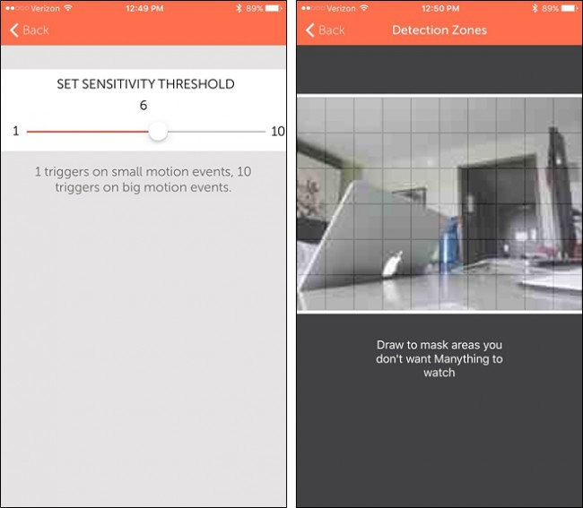 utiliser votre Smartphone comme Home Security Camera 13