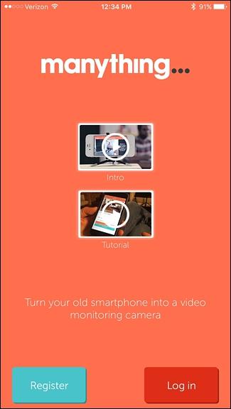 utiliser votre Smartphone comme Home Security Camera 2