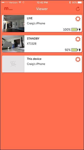 utiliser votre Smartphone comme Home Security Camera 9