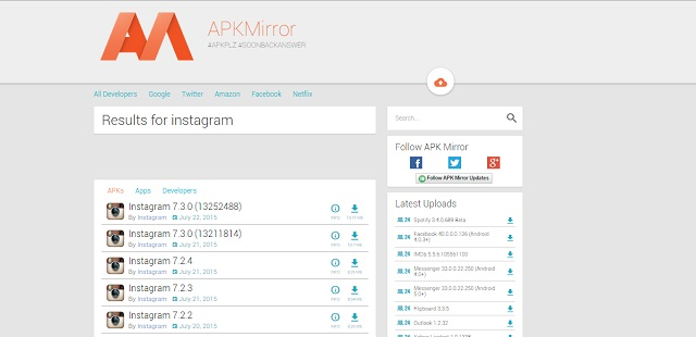 APKMirror-Search-Results