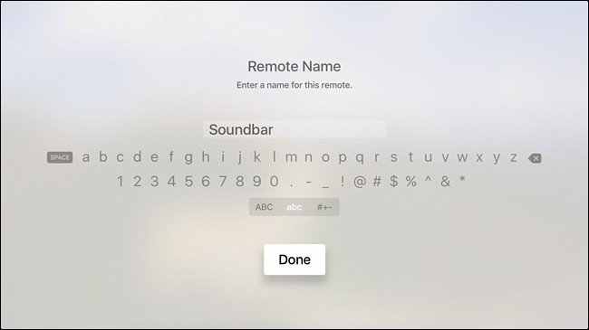 Apple TV à distance pour contrôler le volume