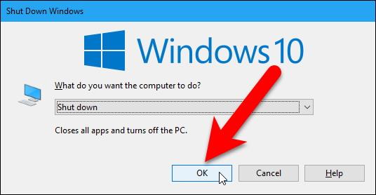 Arrêter un PC Windows sans installer les mises à jour 2