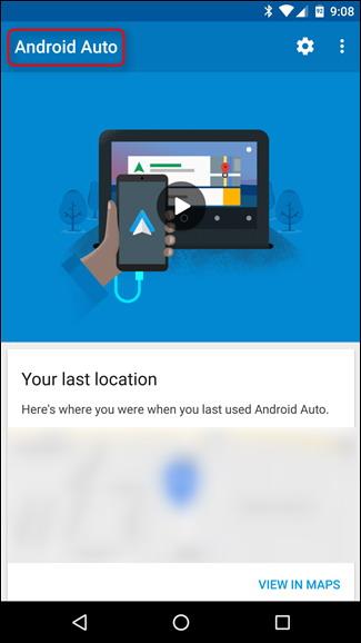 Captures d'écran sur Android Auto 1
