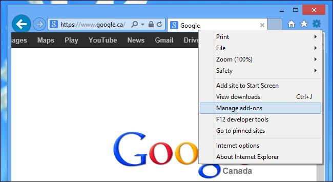 Changer le moteur de recherche par défaut 1