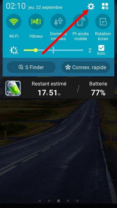 Comment ajouter un autre compte Google Sur Android -11654156