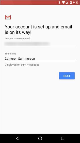 Comment ajouter un compte email sur Android 6