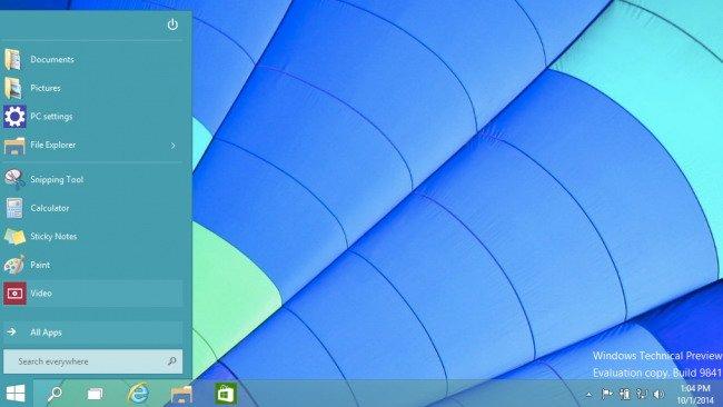 Comment faire le menu Démarrer de Windows 10 22