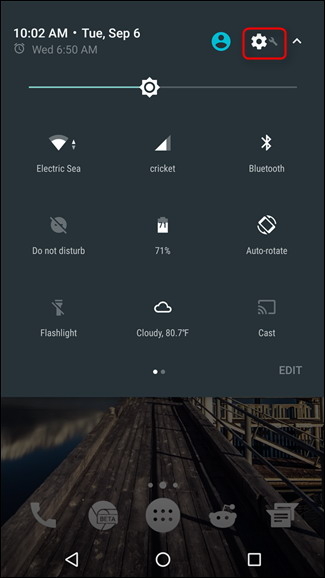 Comment faire pour activer System Tuner UI d'Android 1