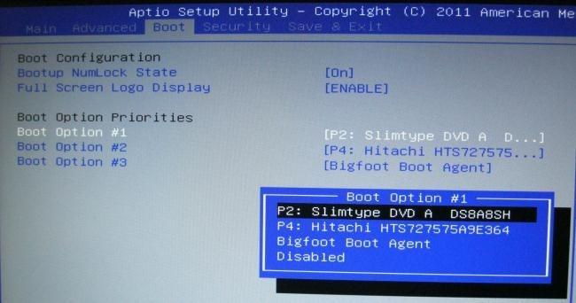 Démarrer votre ordinateur à partir d'un disque ou clé USB 5