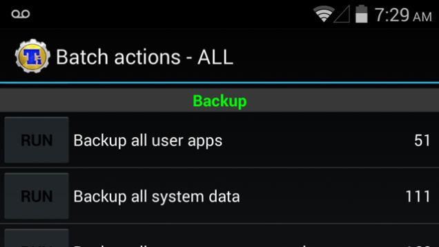 Faire une sauvegarde de votre système, les applications et données