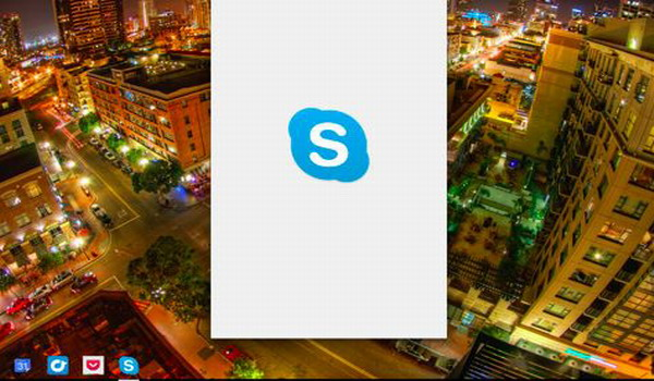Installez le Skype App Android