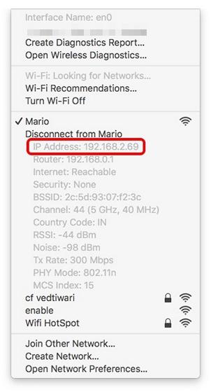 Mac-IP-Address