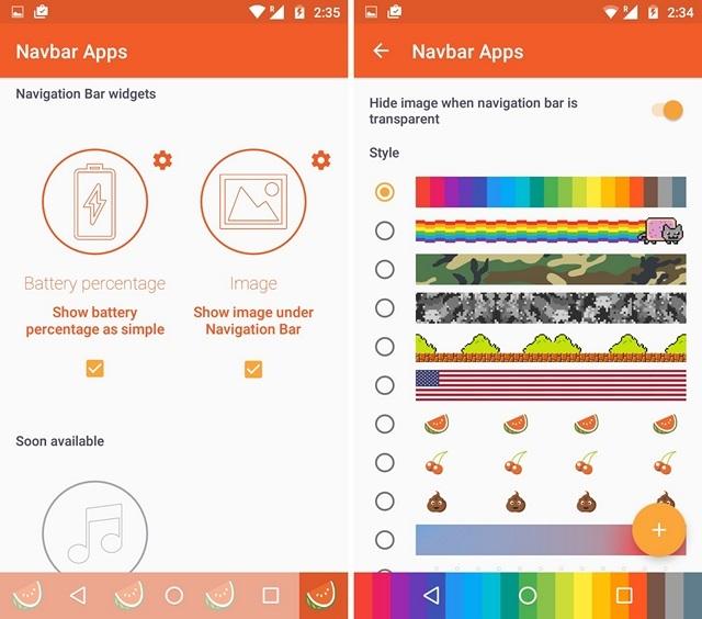 Navbar-Apps-Widgets