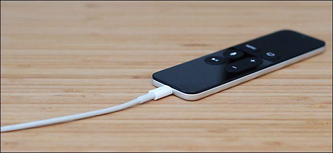 Rechargement La télécommande Apple TV
