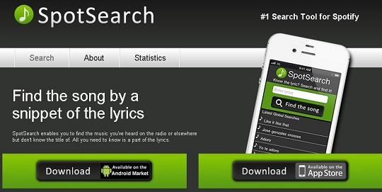 Spotsearch-music-app-logo