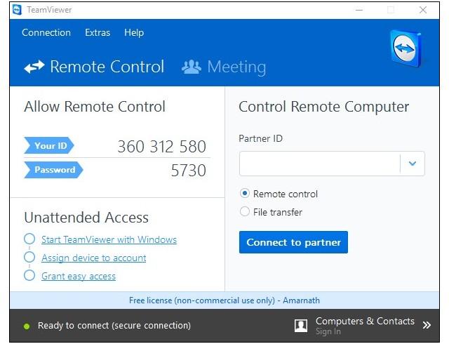 Télécharger TeamViewer sur votre PC