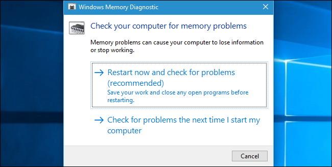 Tester La RAM de l'ordinateur 2