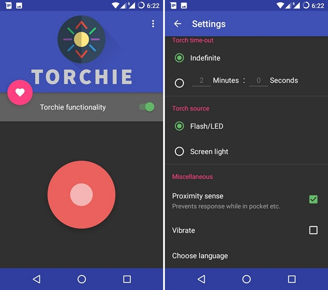 Torchie-Android-app