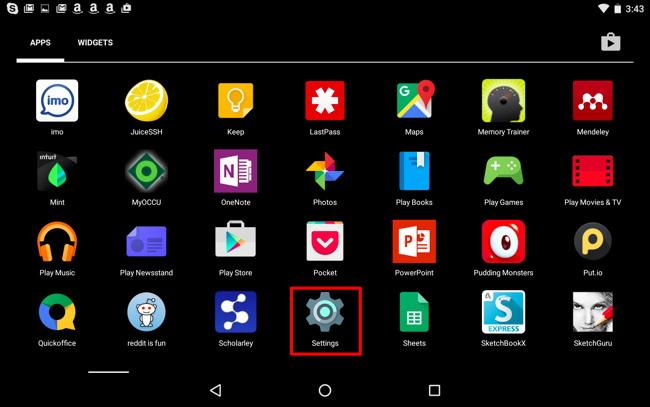 Trouver votre Android Version Nombre 2